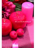 6 Pommes fushia MINI