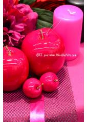 1 Pomme fushia GROSSE