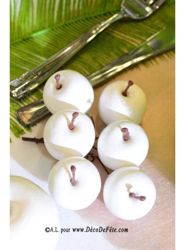 6 Pommes blanches MINI