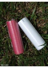 1 Serpentin papier bordeaux ou blanc