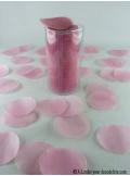 Confettis rond rose