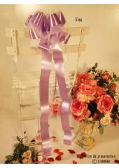 1 Noeud automatique grands pans lilas