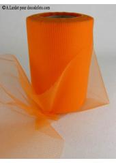 20M Tulle 10cm  déco orange