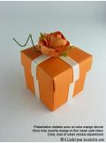12 Roses ouvertes orange