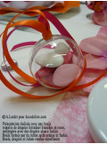 1 Boule transparente 5cm