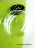1 Médaillon transparent