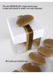10 petits cubes MIROIR & BLANC