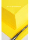40 Serviettes ECO jaune vif