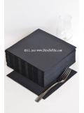 40 Serviettes ECO noir