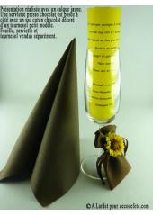 5 Menus calque jaune