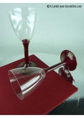 10 Verres à vin bordeaux