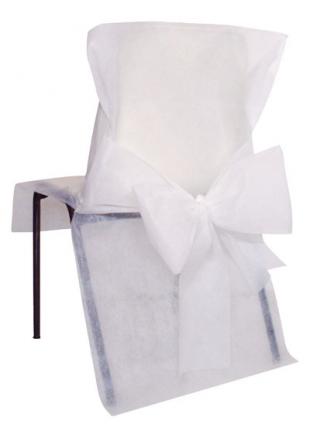 10 housses de chaise blanc - Housse de chaise blanc ...