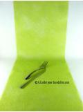 10M Chemin de table SUBLIM vert anis