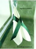 10M Chemin de table SUBLIM vert lierre