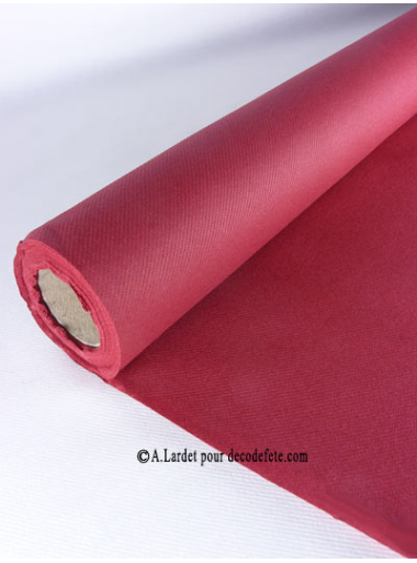 25M Nappe jetable presto bordeaux