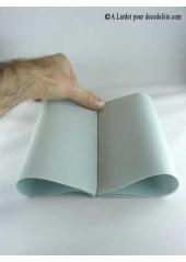 50 Serviettes jetables presto aluminium (gris clair)