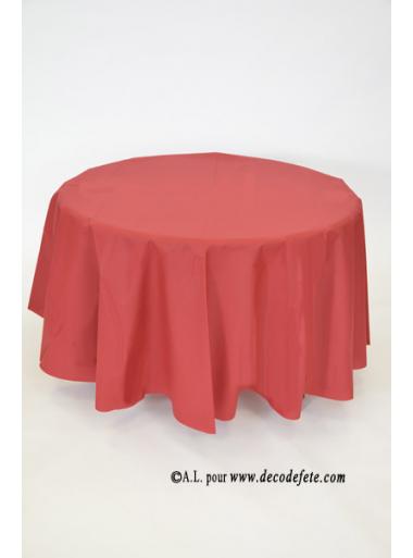 1 nappe presto ronde jetable bordeaux. Black Bedroom Furniture Sets. Home Design Ideas