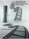 5M Chemin de table CINEMA bobine
