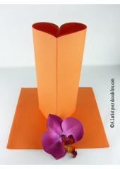 25 Serviettes jetables presto orange