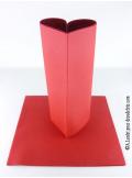 25 Serviettes jetables presto rouge