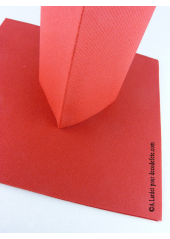 25 Serviettes jetables presto rouge