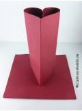 25 Serviettes jetables presto bordeaux