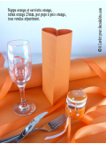 10M Nappe jetable presto orange