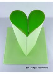 25 Serviettes jetables presto vert pomme