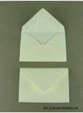 50 Mini Enveloppe écrue