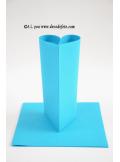 10M Nappe jetable presto turquoise/azur