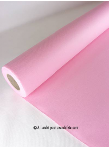 25M Nappe jetable presto rose
