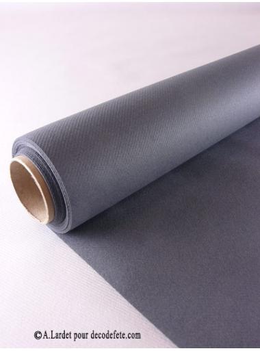 25m nappe jetable presto gris anthracite rouleau 25m. Black Bedroom Furniture Sets. Home Design Ideas
