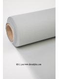 25M Nappe jetable presto gris aluminium