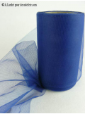 20M Tulle 10cm déco bleu marine