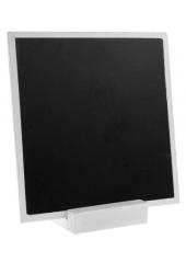 1 ardoise blanc carrée