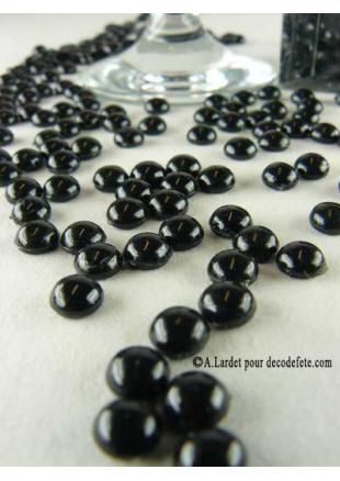 perle de pluie noir deco de table. Black Bedroom Furniture Sets. Home Design Ideas