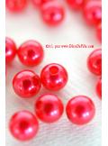 50 Perles rouge