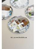 6 diamants ronds transparents