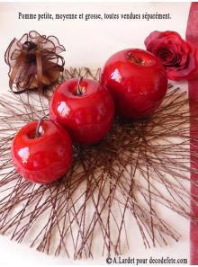 1 Pomme rouge PETITE