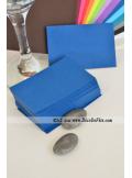 50 Mini Carte bleu marine