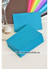 50 Mini Carte bleu lagon