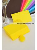 50 Mini Carte jaune