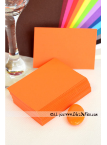 50 Mini Carte orange