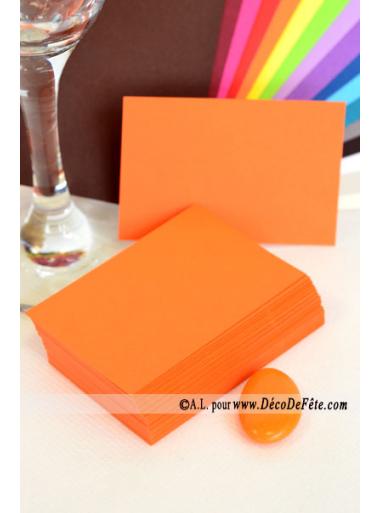 50 Mini Carte orange