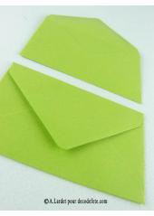 50 Mini Enveloppe bambou