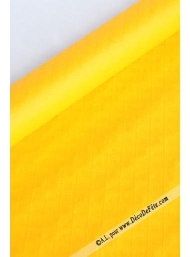 10 M Nappe papier EXTRA jaune
