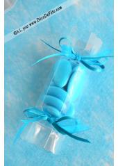 10 Papillotes transparentes