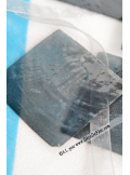 6 NACRES carrées anthracite