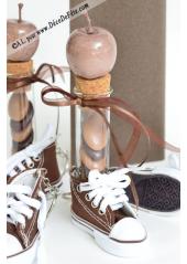 1 Basket porte clés chocolat