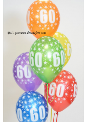 1 station de gonflage 50 ballons HELIUM